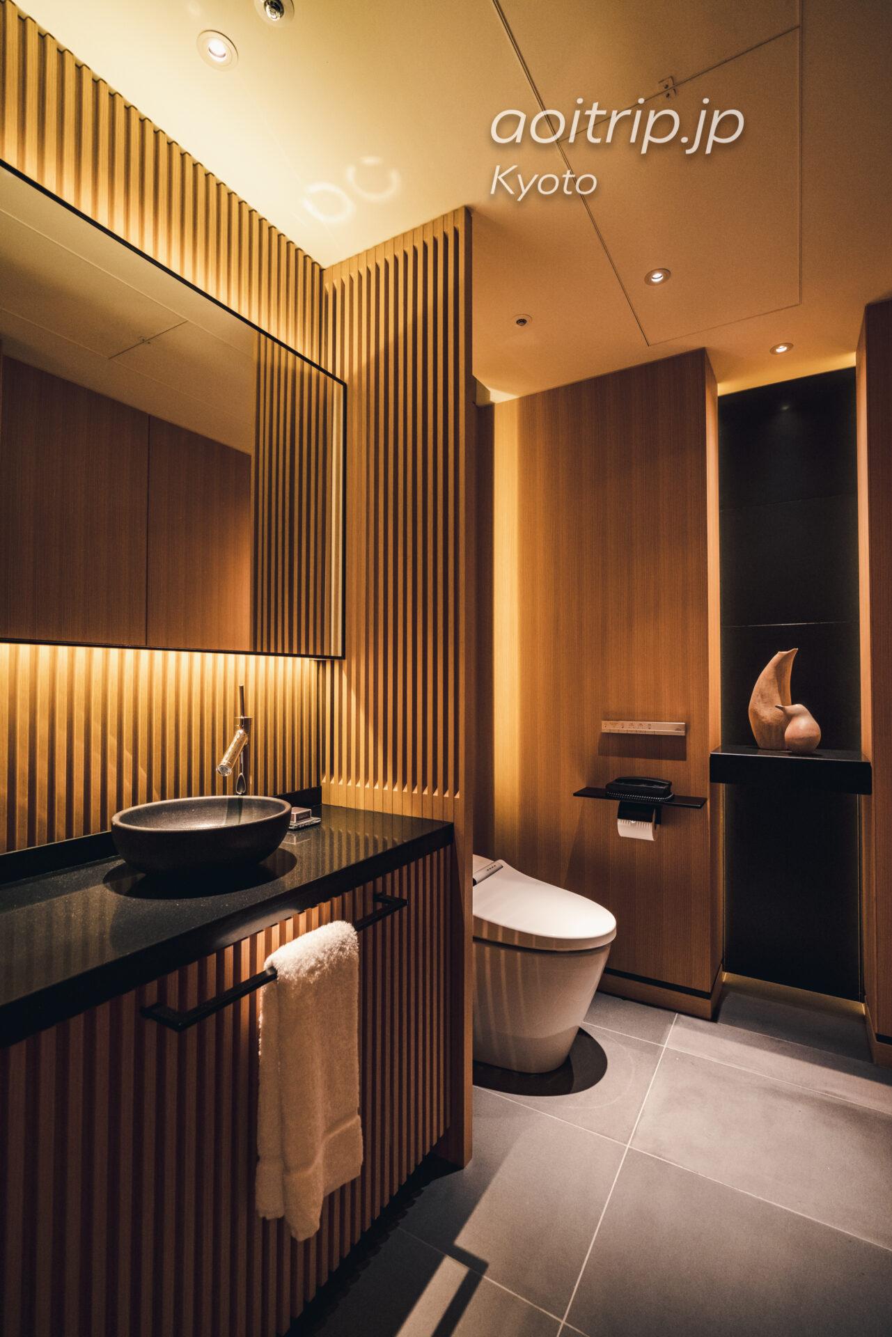 ザ リッツ カールトン京都 The Ritz-Carlton Kyoto コーナースイート KITA Courner Suite KITA 来客用トイレ