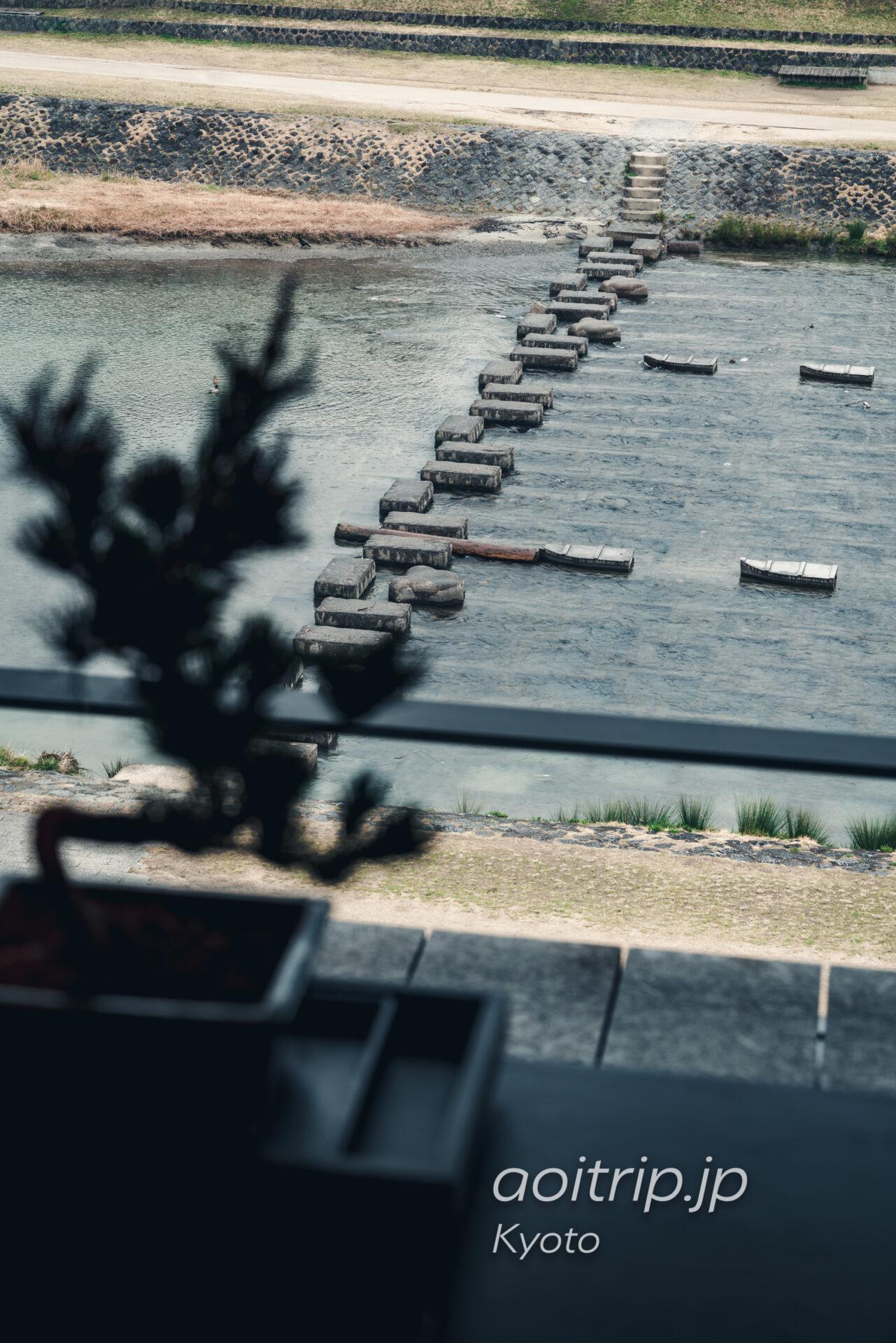 ザ リッツ カールトン京都 The Ritz-Carlton Kyoto コーナースイート KITA Courner Suite KITA 鴨川の眺望