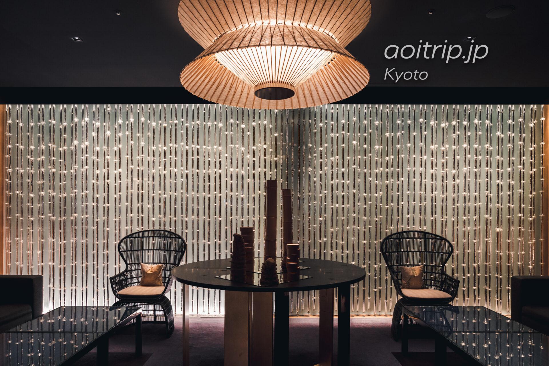 ザ リッツ カールトン京都 The Ritz-Carlton Kyoto ロビー 三嶋りつ恵 月の光