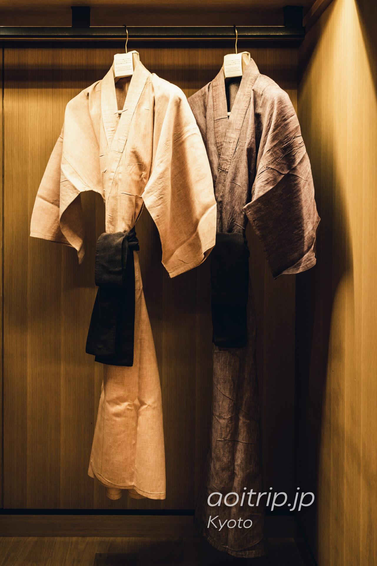 ザ リッツ カールトン京都 浴衣
