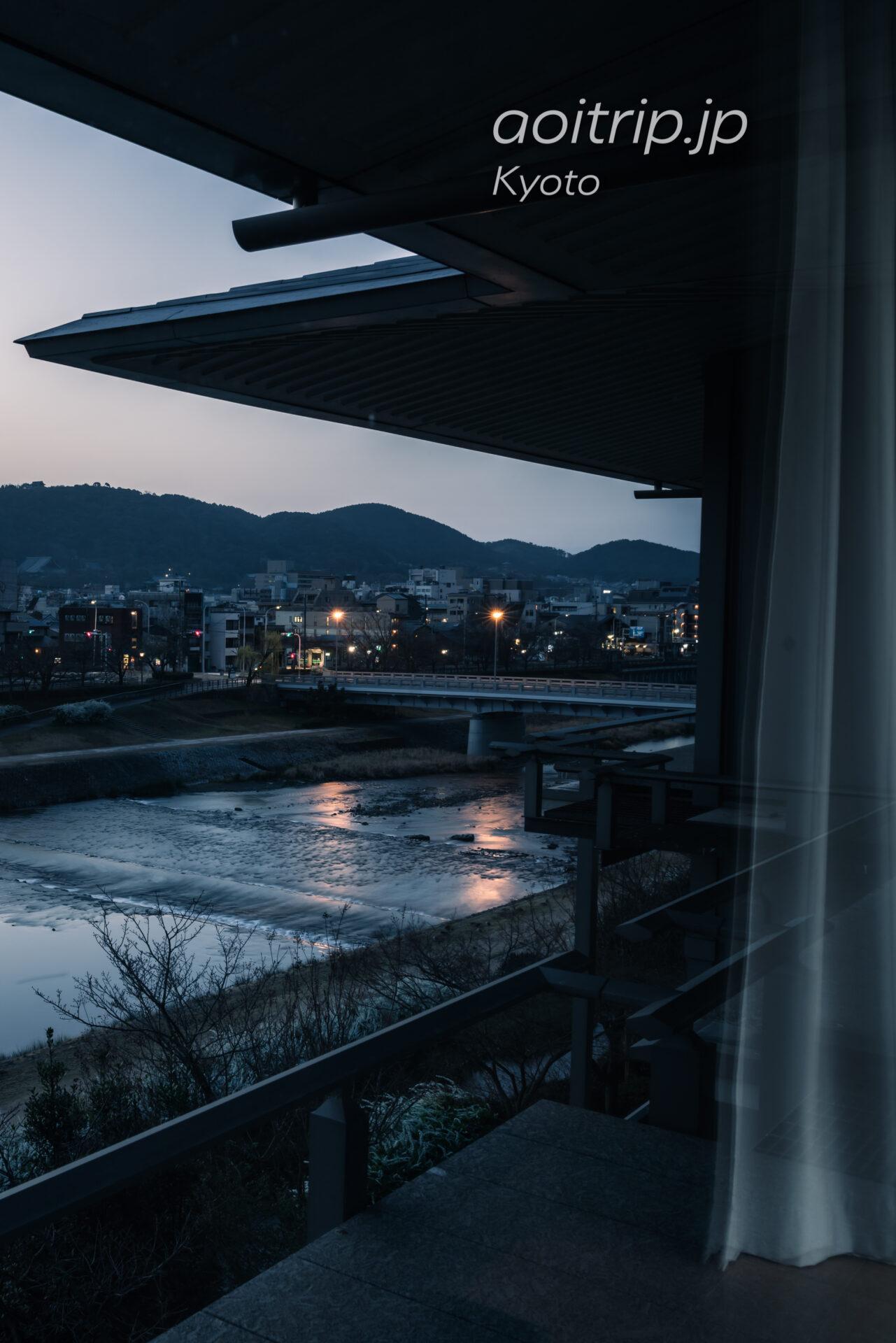ザリッツカールトン京都から望む清水寺