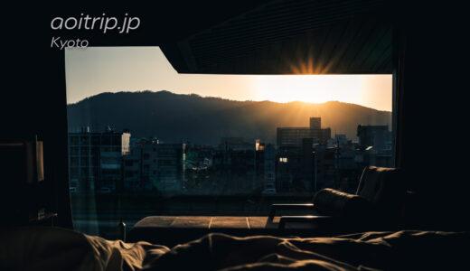 リッツ京都から望む鴨川、比叡山、大文字山、円山…朝日
