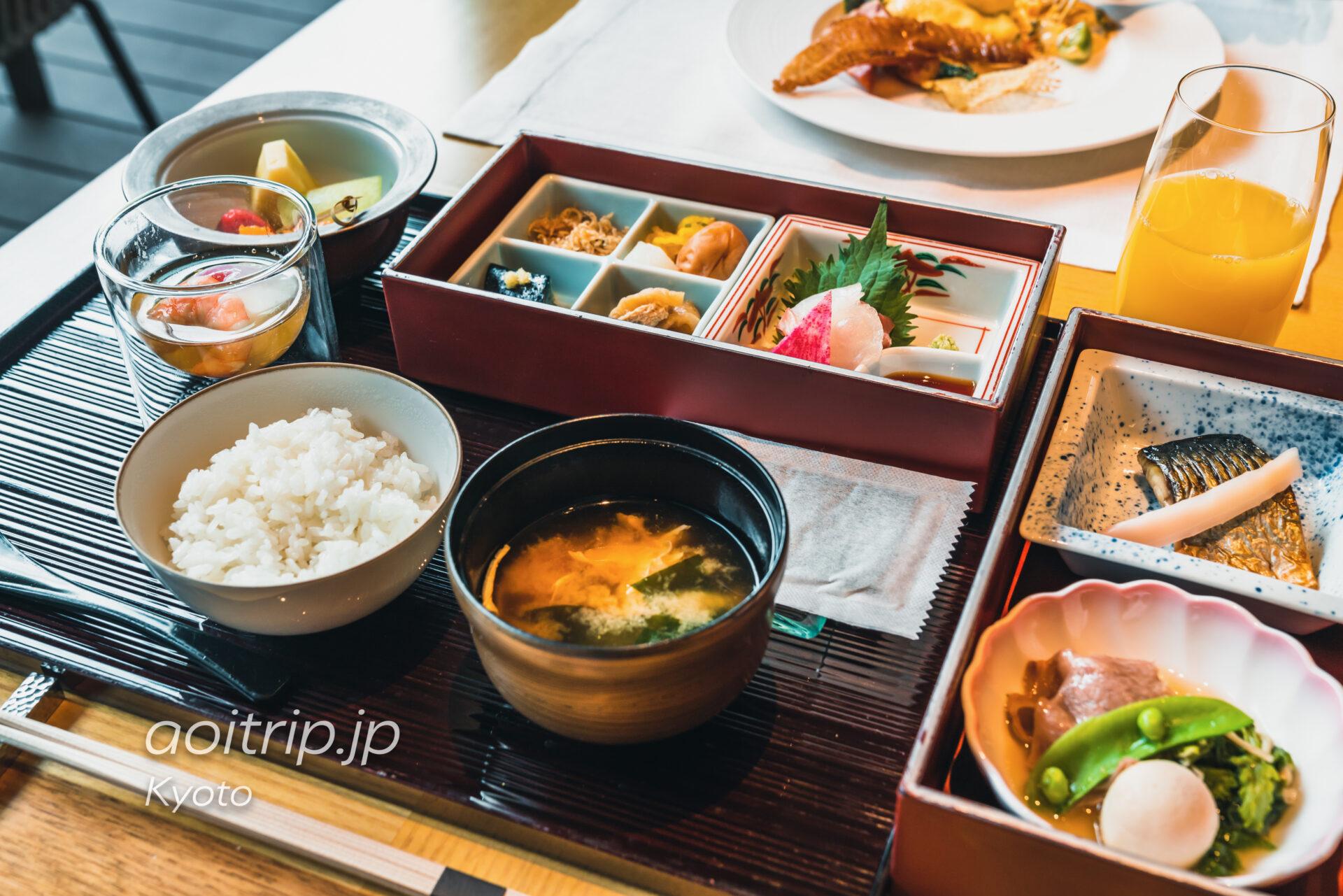 ザ リッツカールトン京都 朝食 和定食