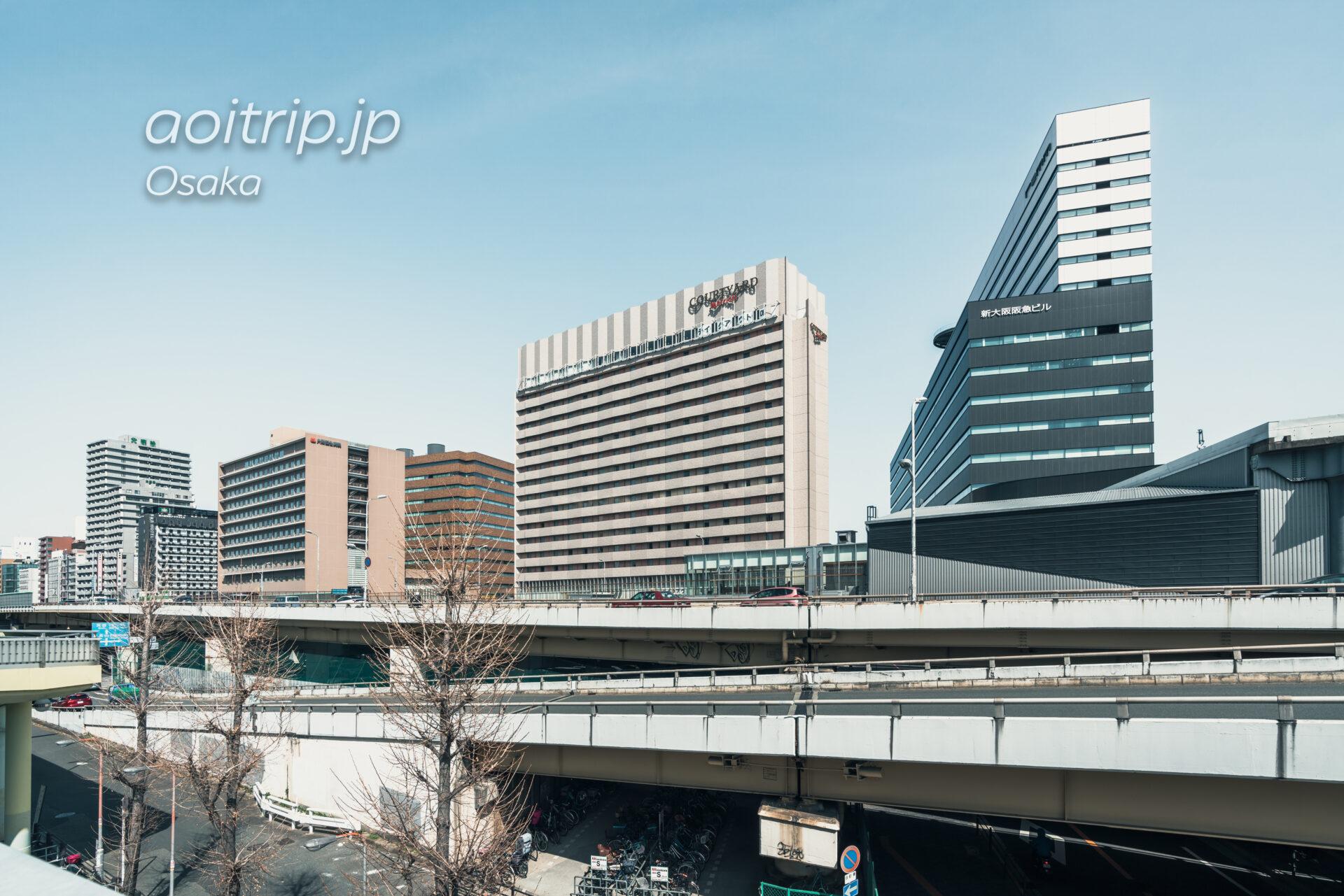 コートヤード バイ マリオット新大阪ステーションのホテル外観
