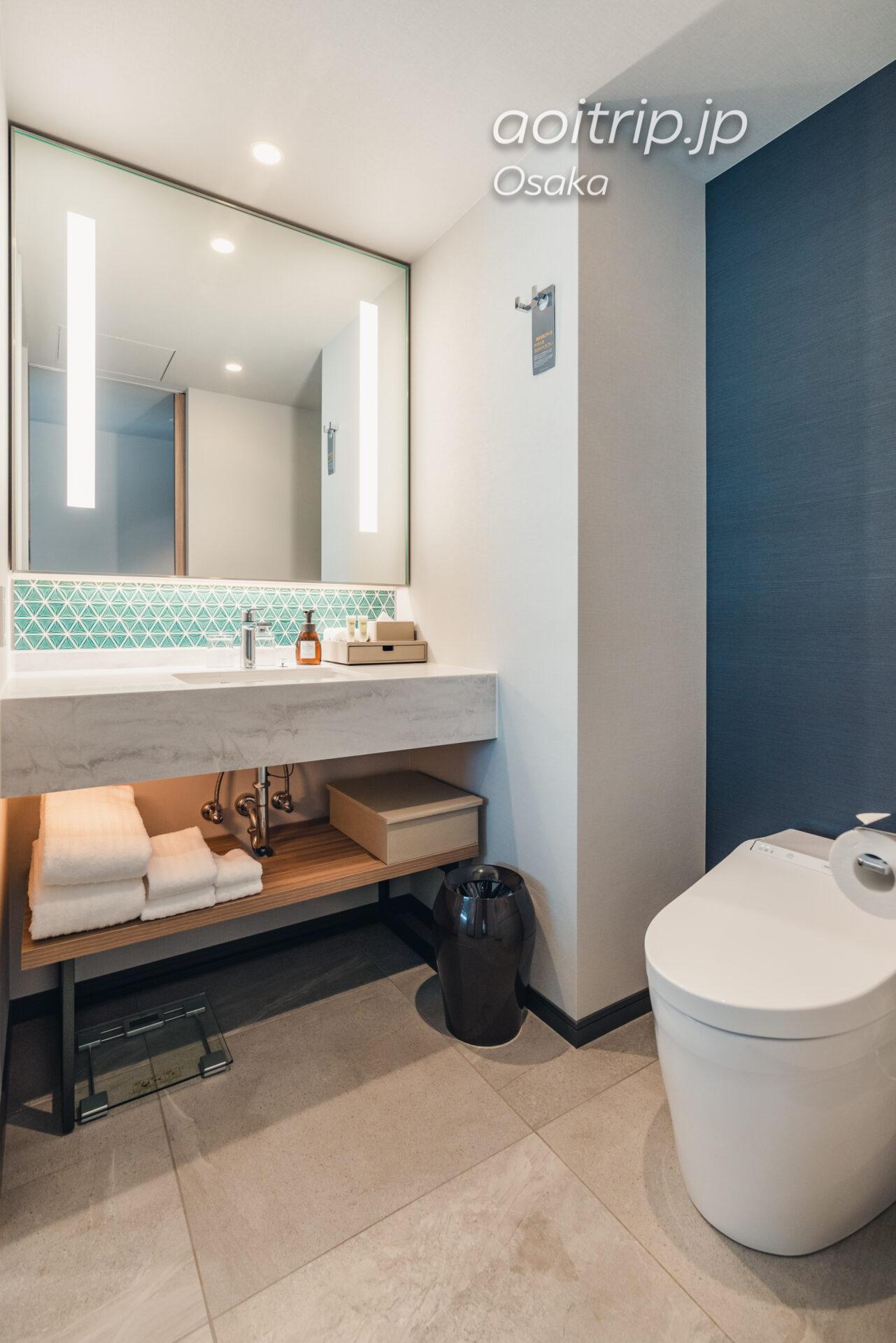 コートヤード バイ マリオット大阪本町|Courtyard Osaka Honmachi ビューキング(シャワーのみ) 高層階 View King Shower only Guest room, 1 King, City view, High floor バスルーム