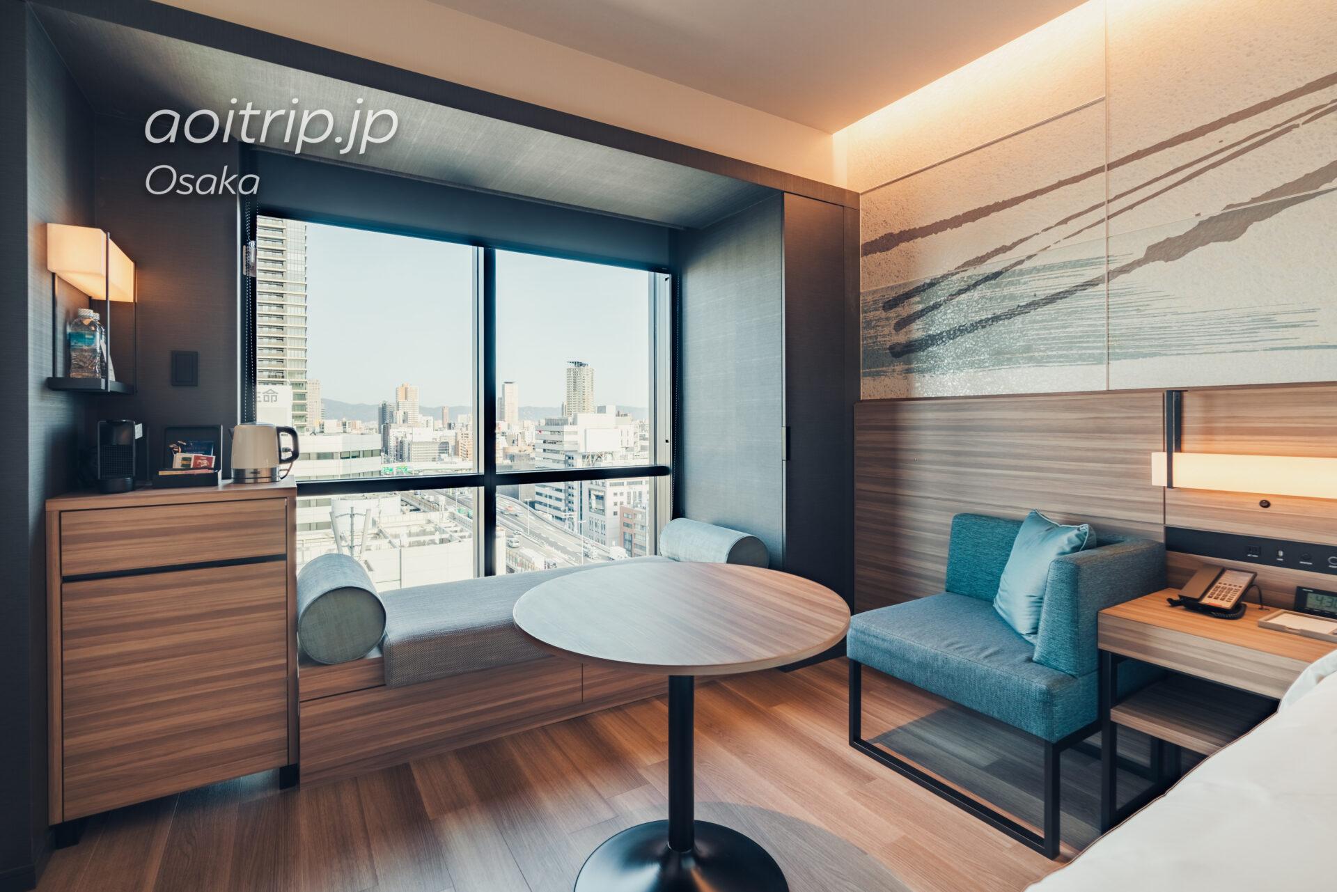 コートヤード バイ マリオット大阪本町|Courtyard Osaka Honmachi ビューキング(シャワーのみ) 高層階 View King Shower only Guest room, 1 King, City view, High floor