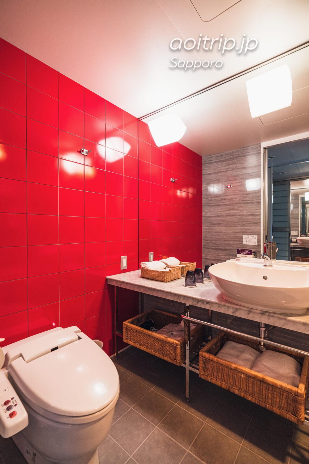 メルキュールホテル札幌 宿泊記 Mercure Sapporo バスルーム