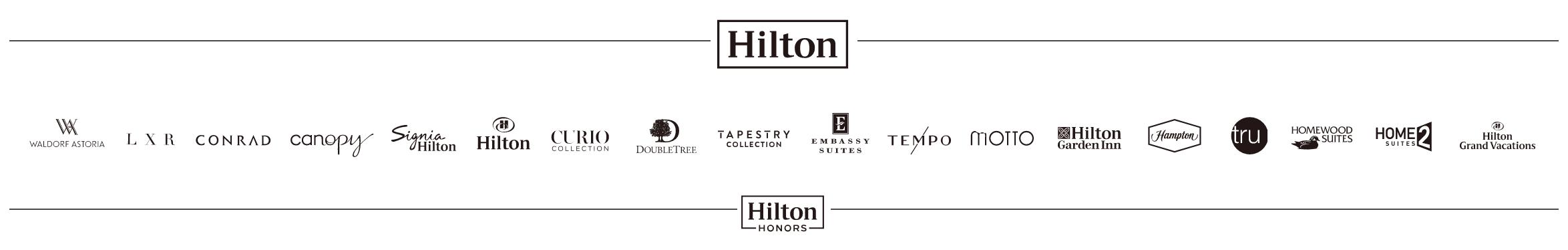 ヒルトンの会員プログラム Hilton Honors|ヒルトン オナーズ