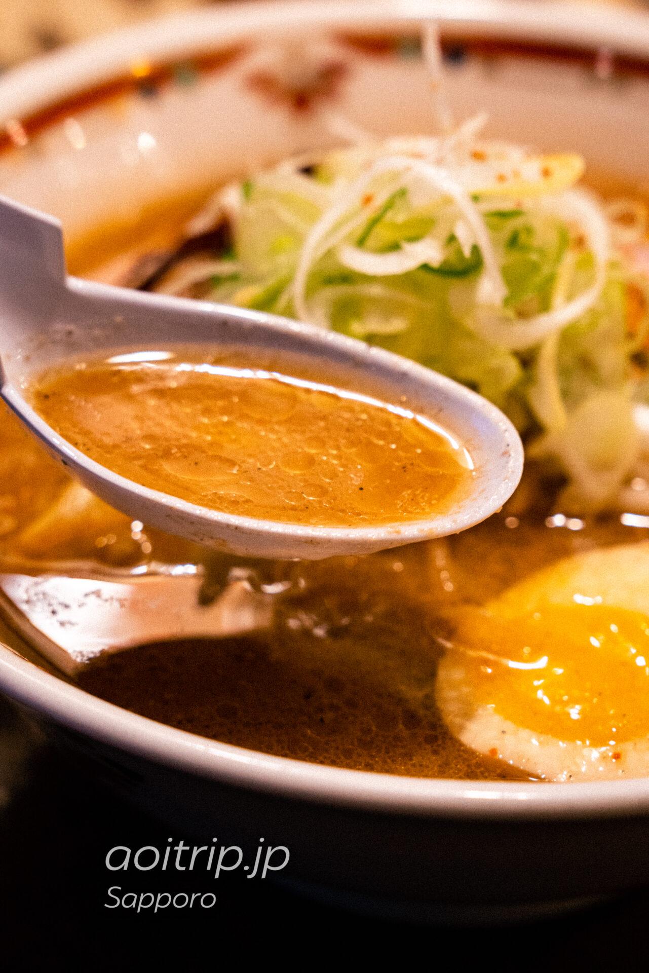 狼スープ 味噌卵ラーメン