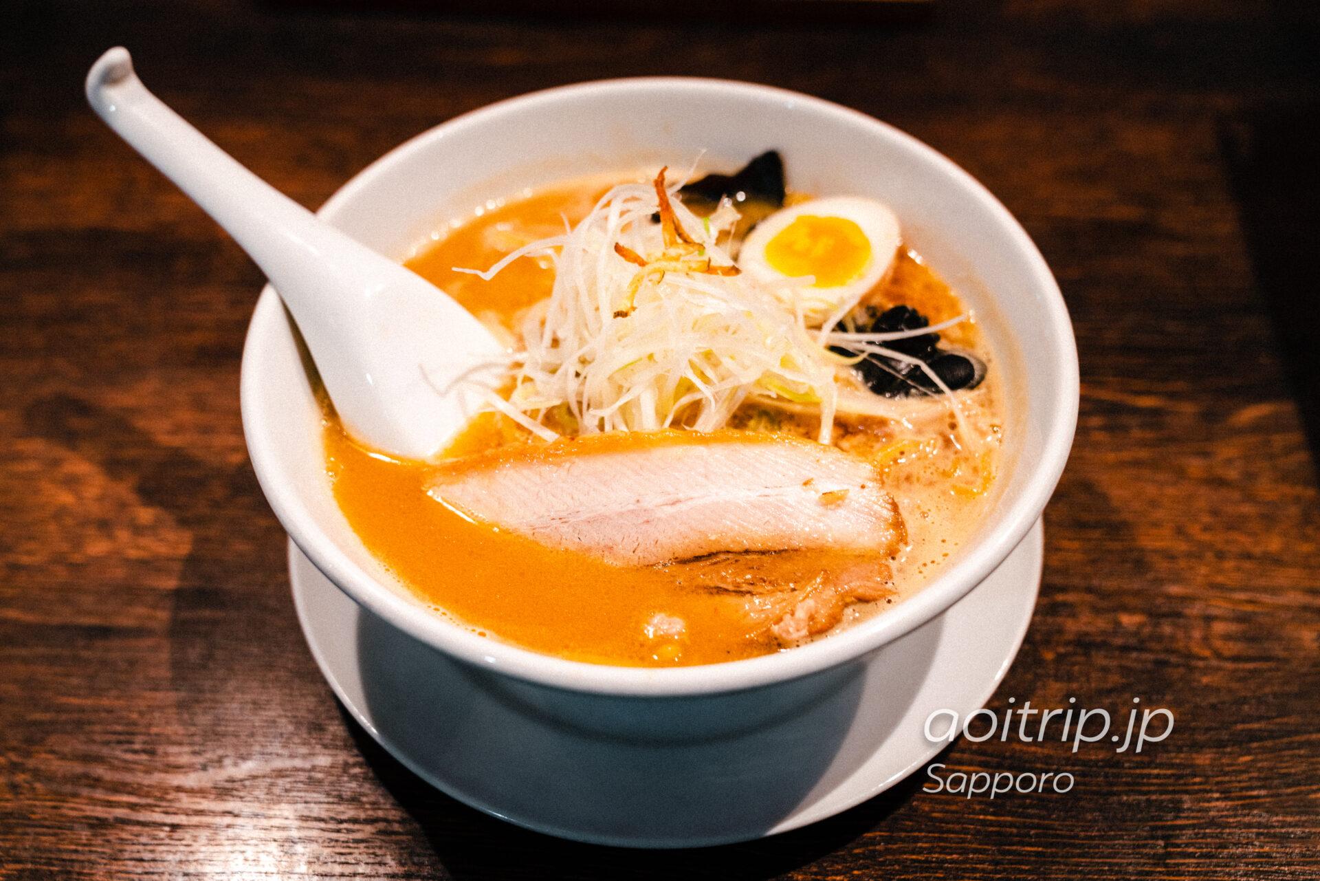 札幌 麺屋雪風 濃厚味噌らーめん
