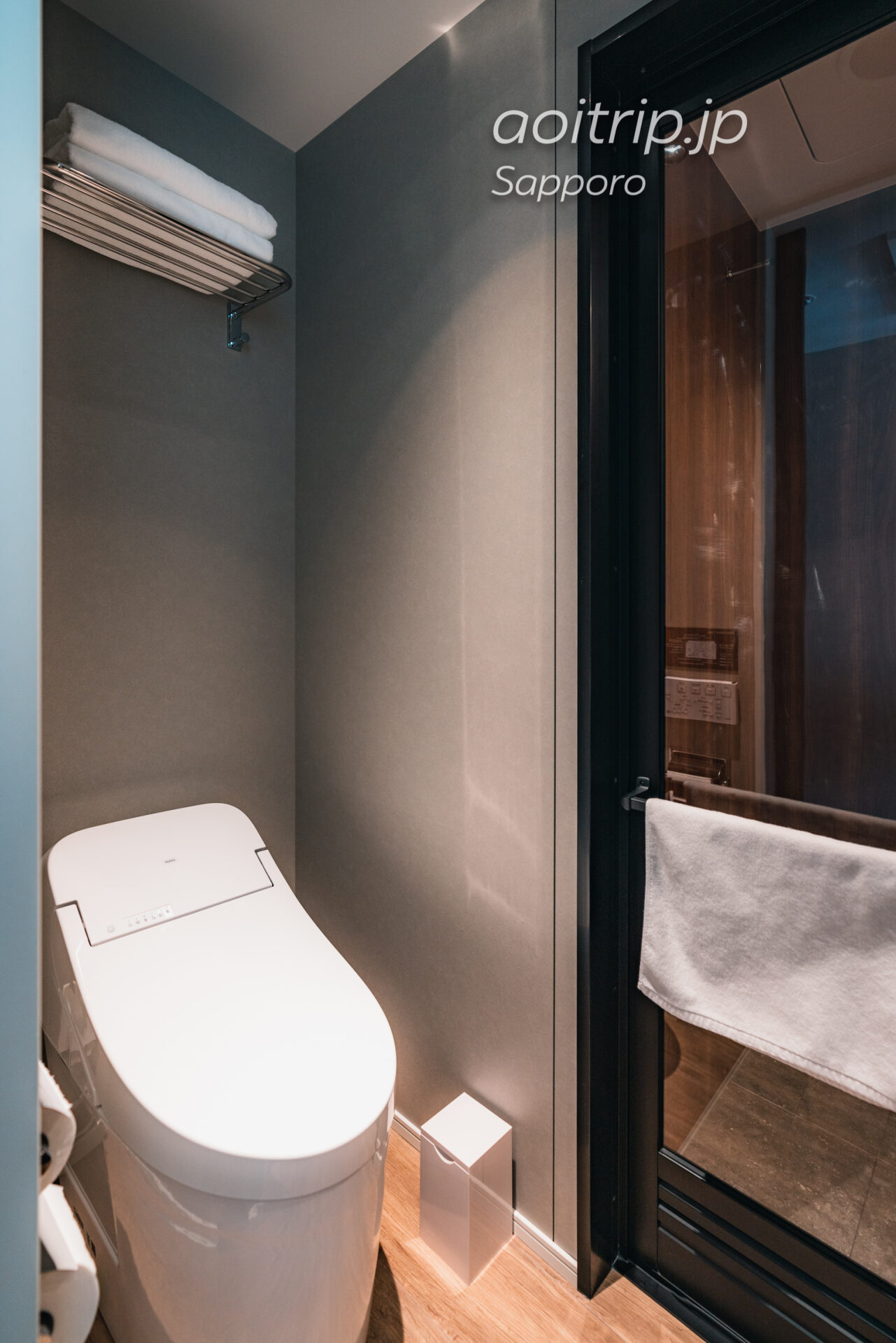 札幌グランベルホテル 客室のトイレ