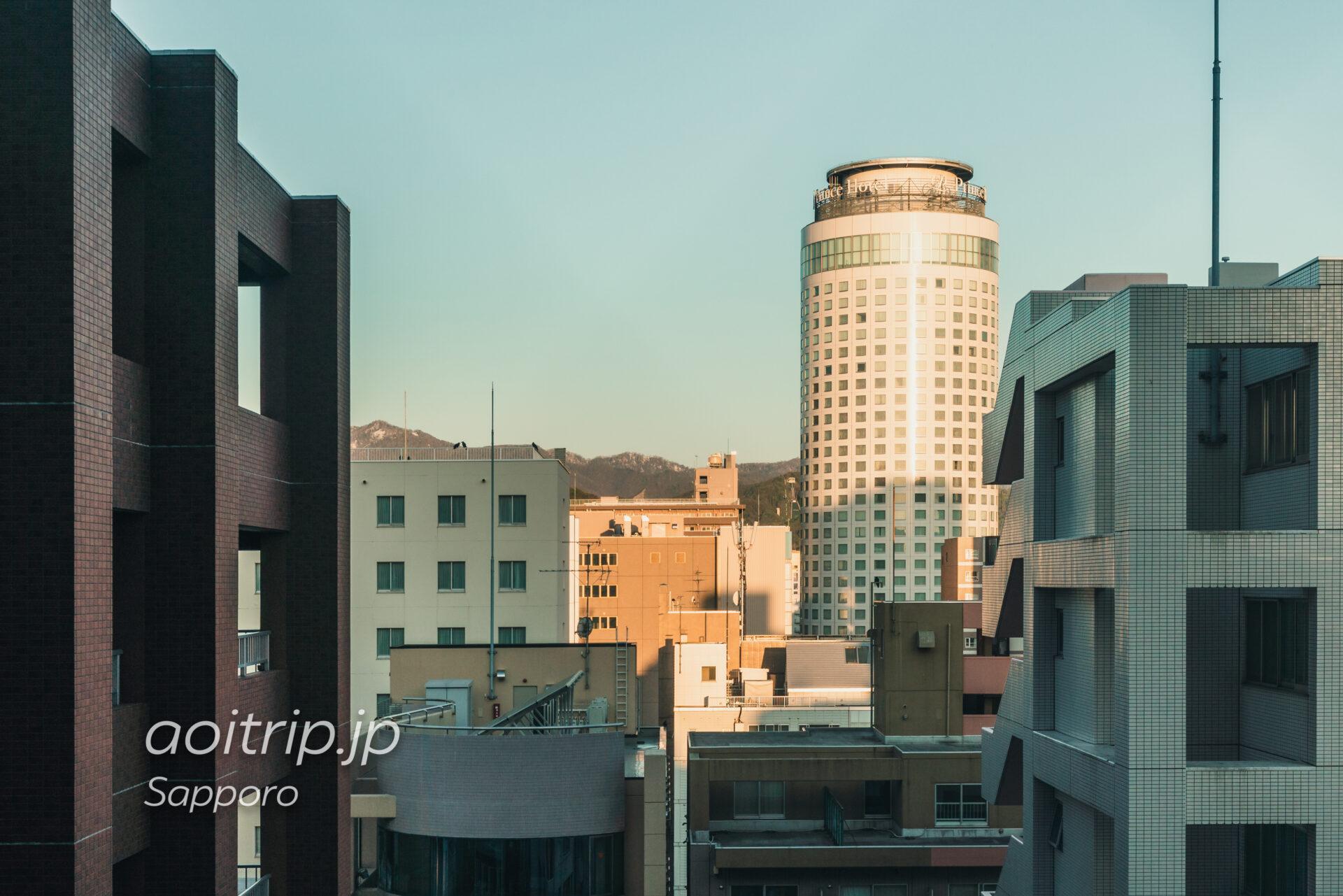札幌グランベルホテルの眺望
