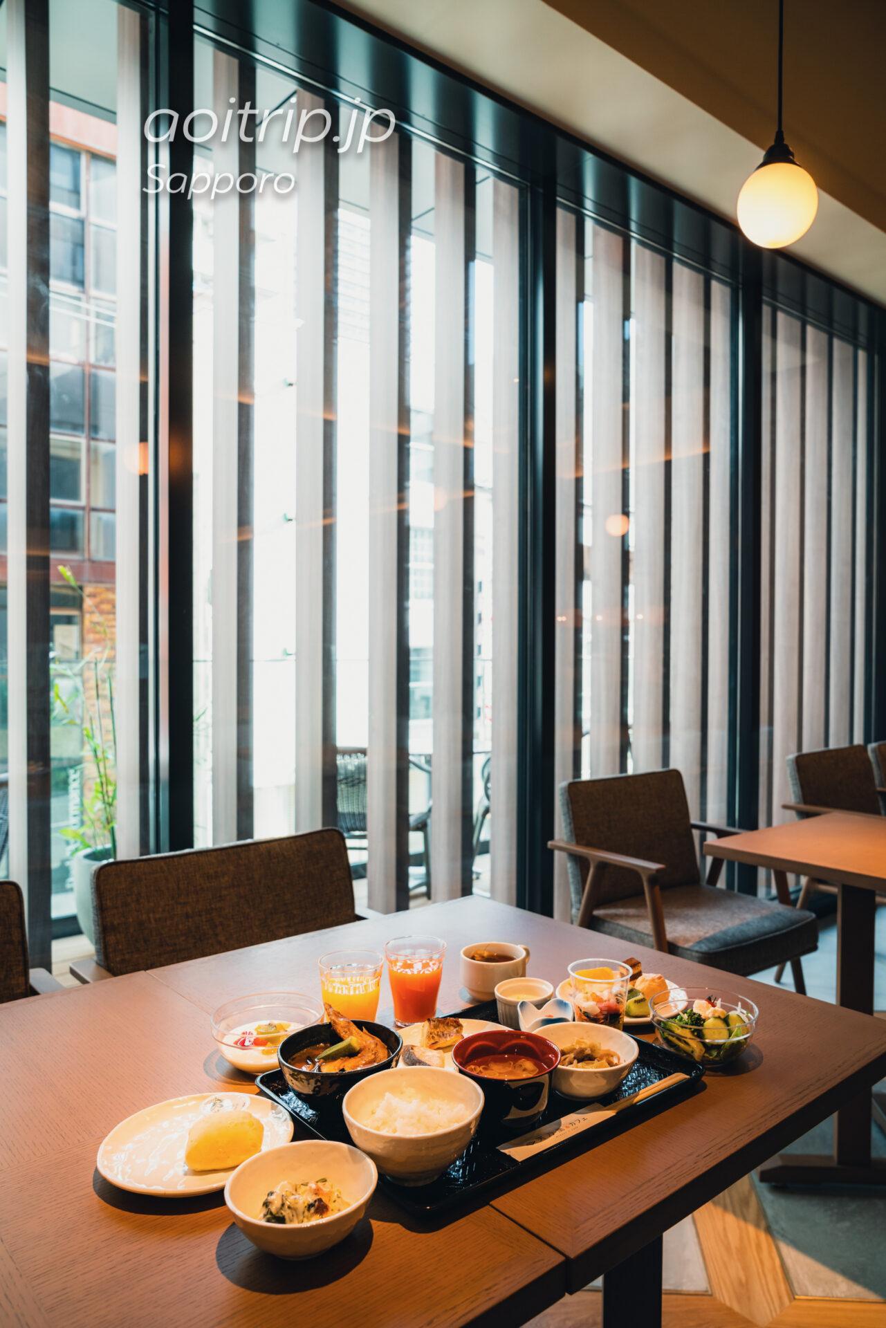 札幌グランドホテルの朝食 実乃里(みのり)&カフェ