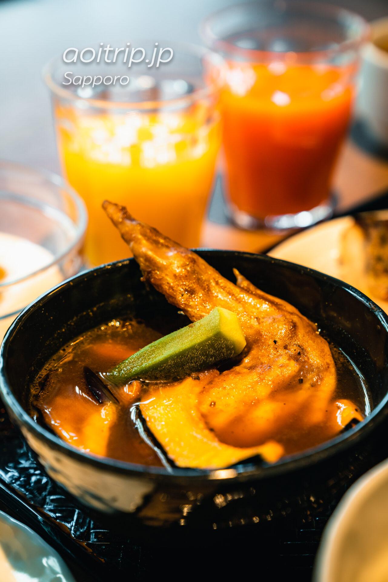 札幌グランドホテルの朝食 実乃里(みのり)&カフェ スープカレー