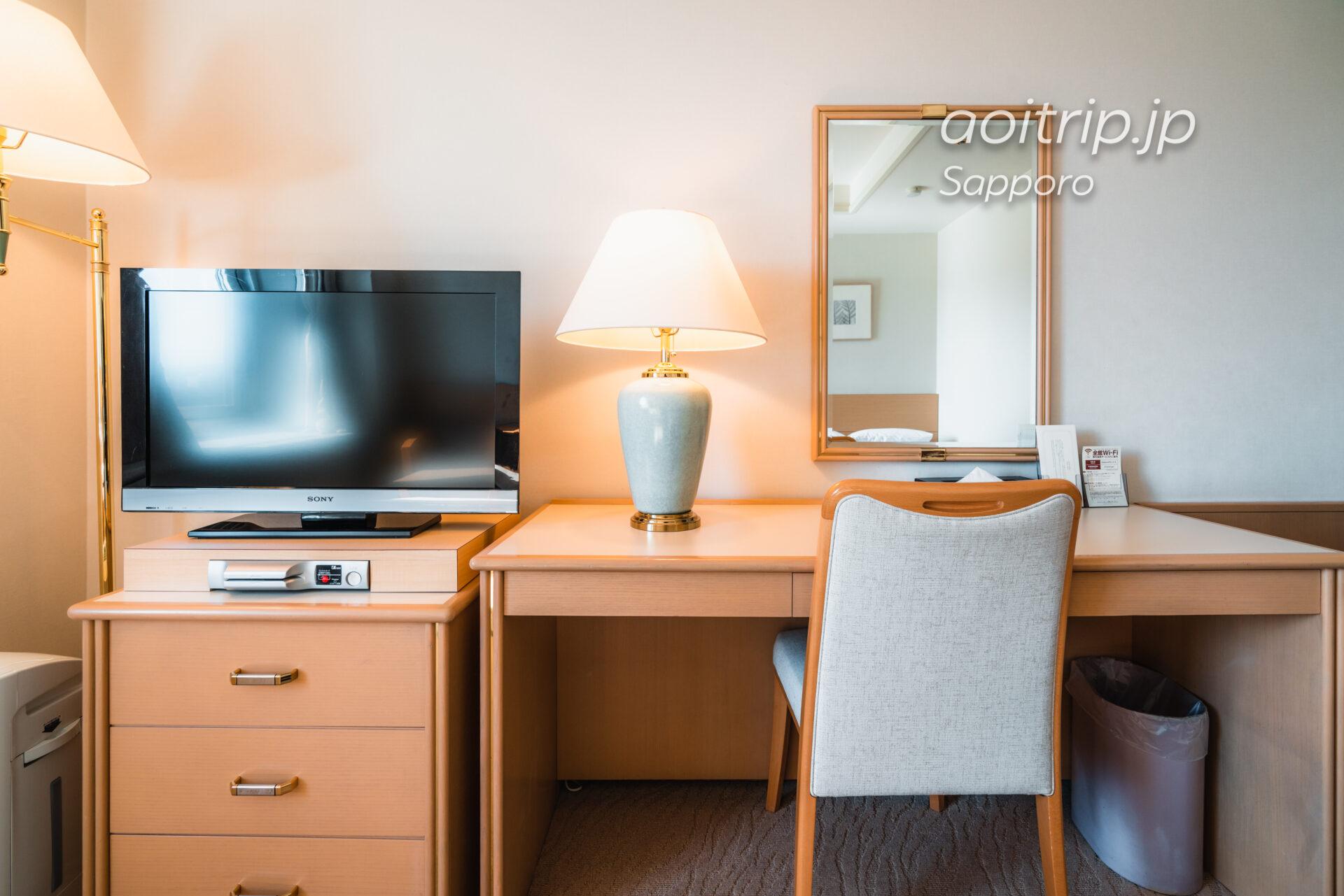 札幌パークホテルの客室 スーペリアクイーンダブル Superior Queen Double Room