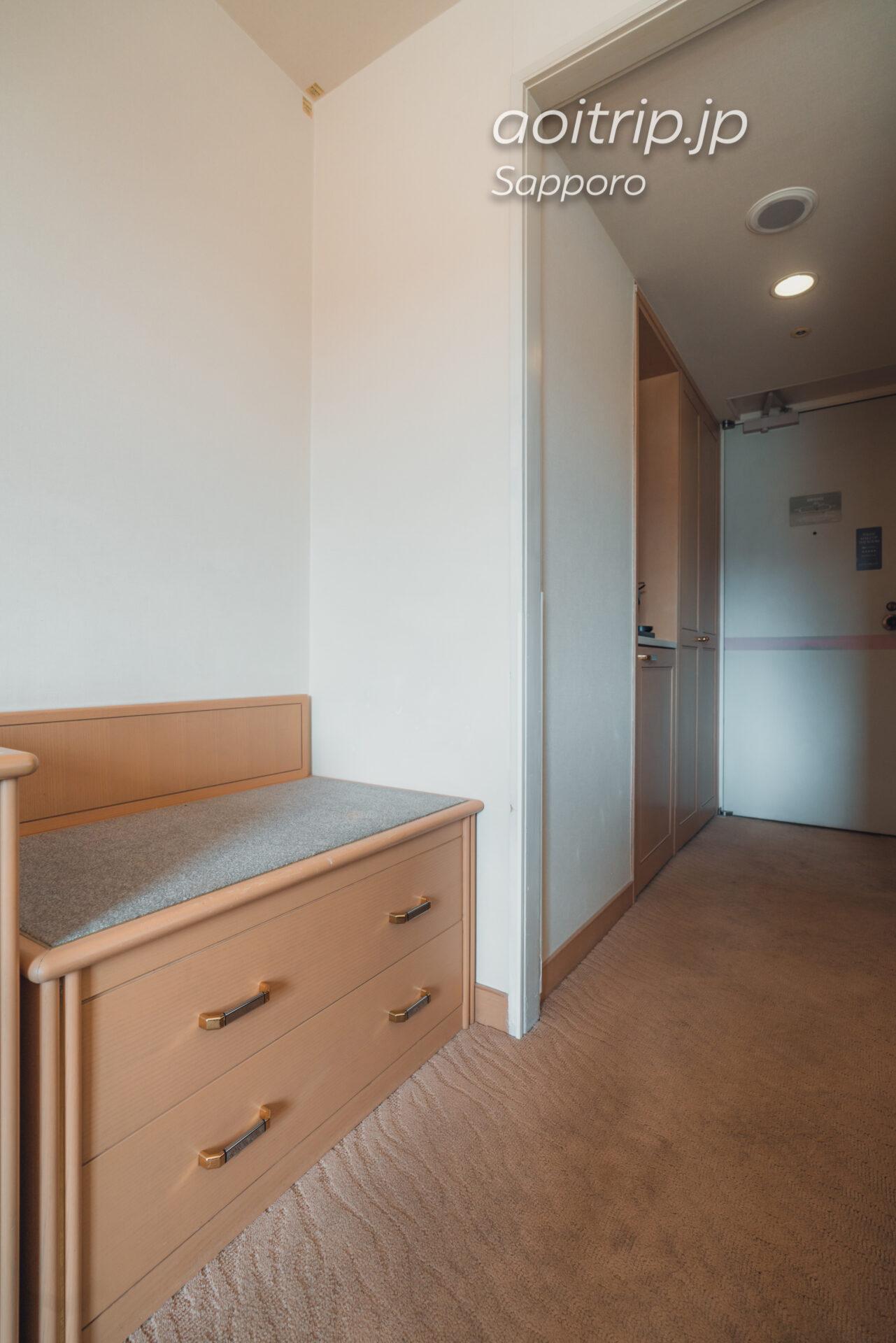 札幌パークホテルの客室 ラゲッジスペース