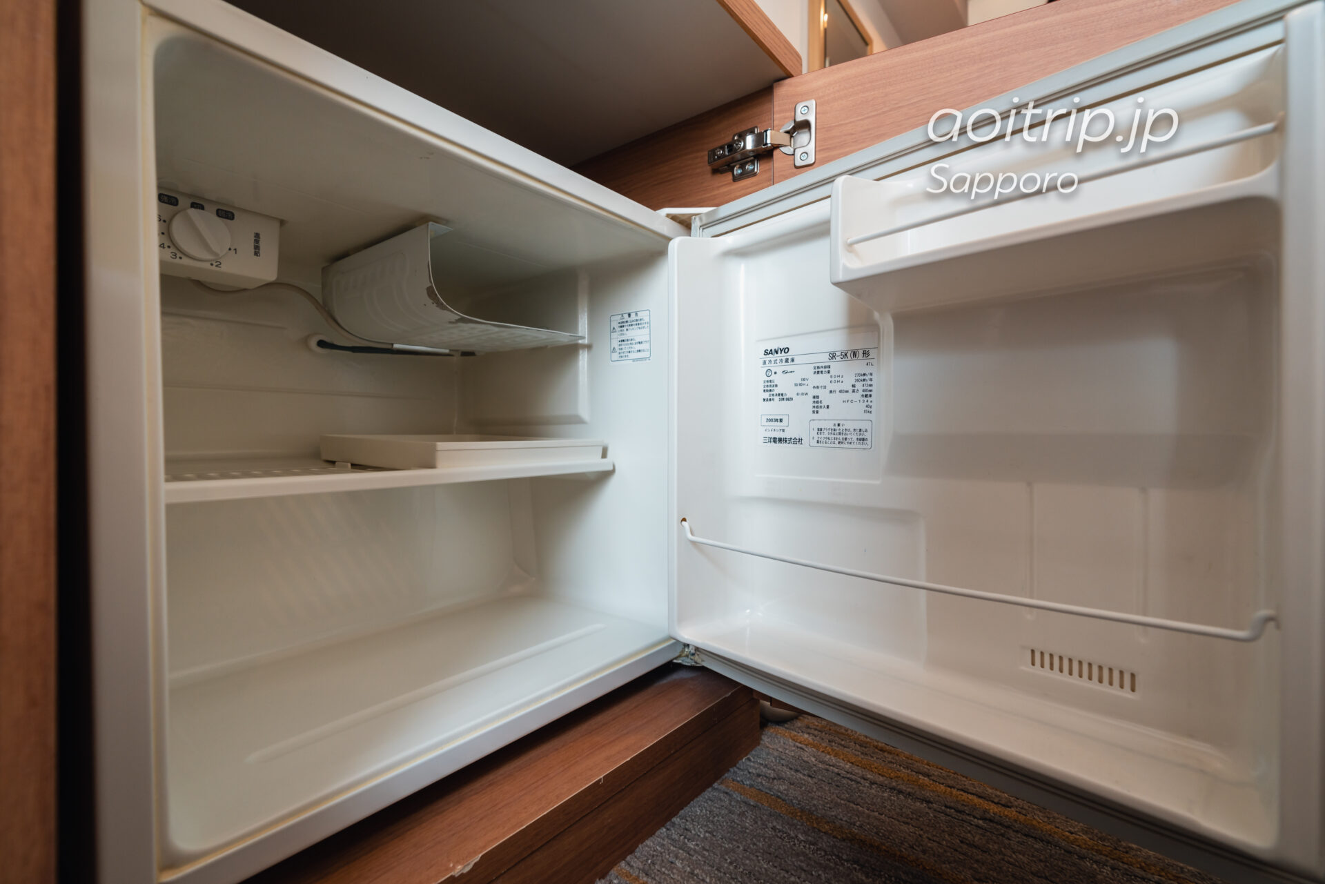 ANAホリデイイン札幌すすきの 冷蔵庫