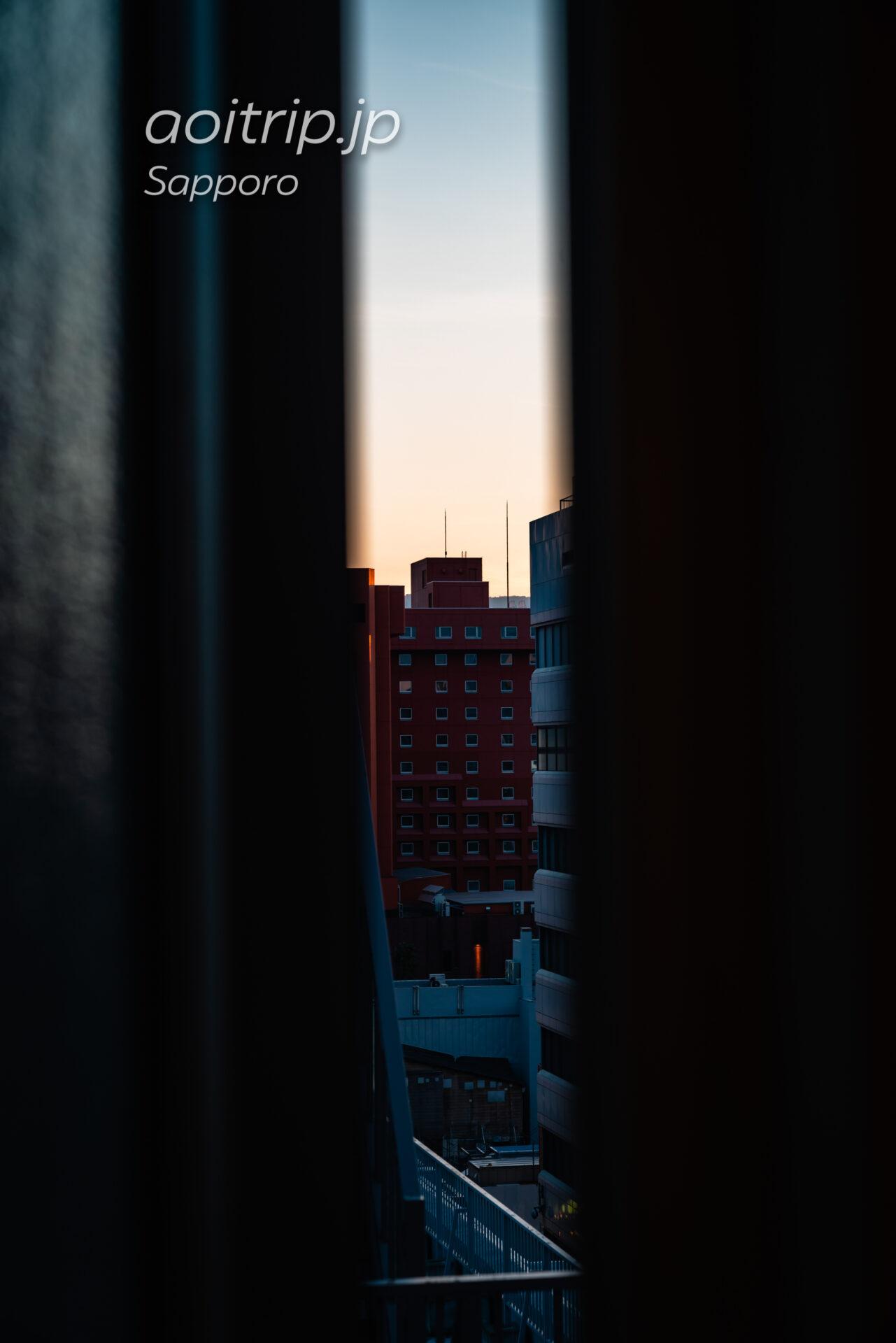 ANAホリデイイン札幌すすきのの客室からの眺望