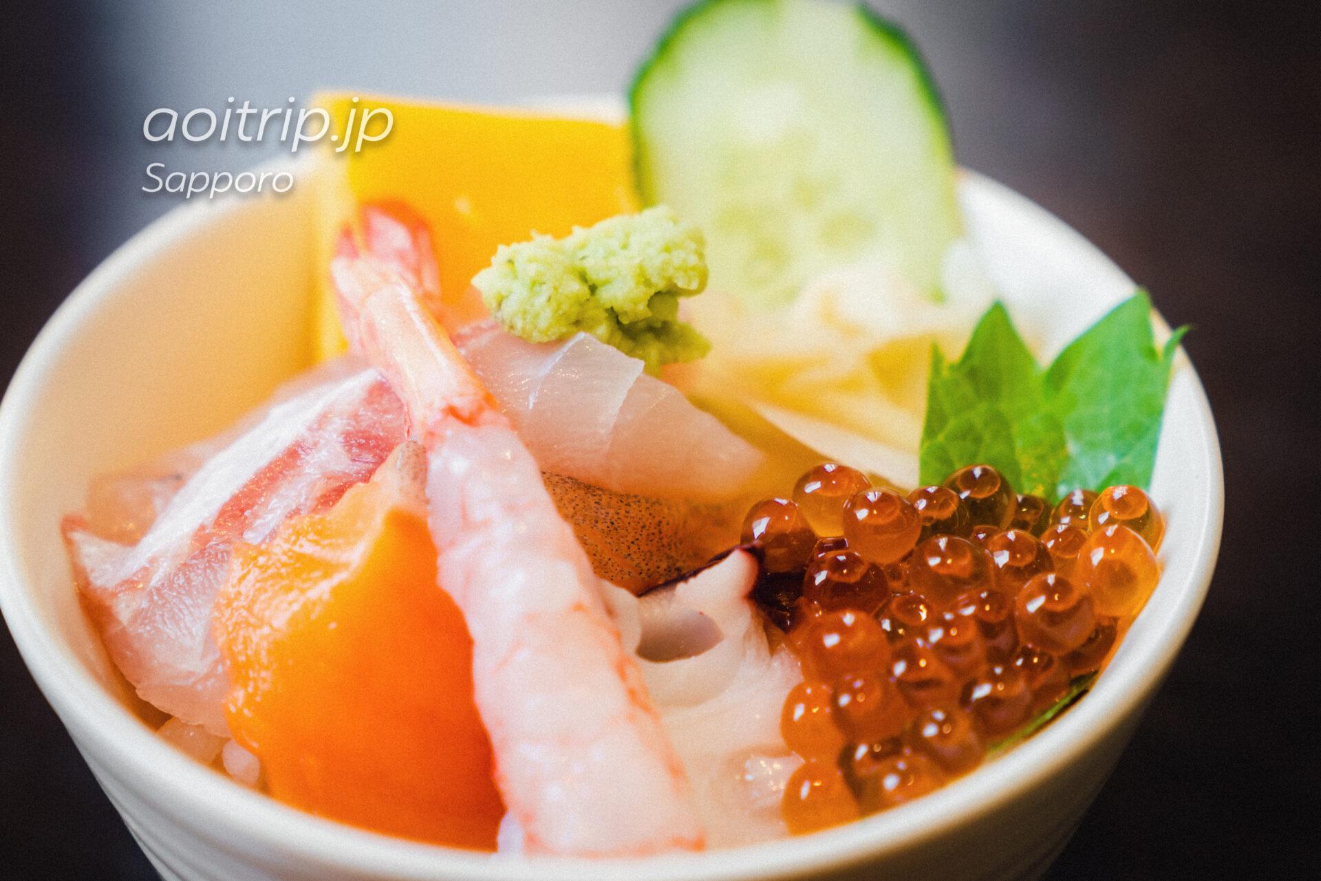 ANAホリデイイン札幌すすきのの朝食 海鮮丼