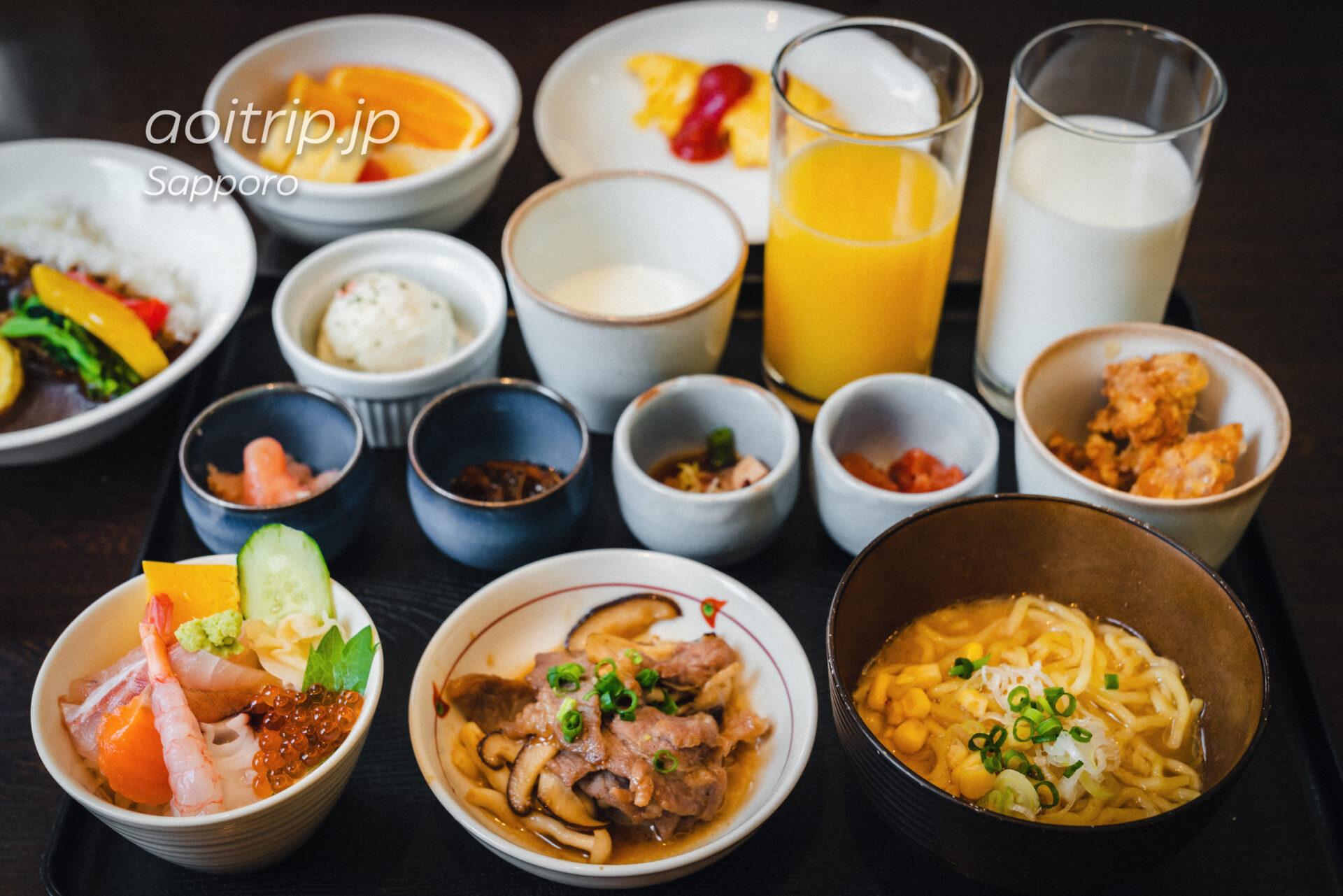 ANAホリデイイン札幌すすきのの朝食