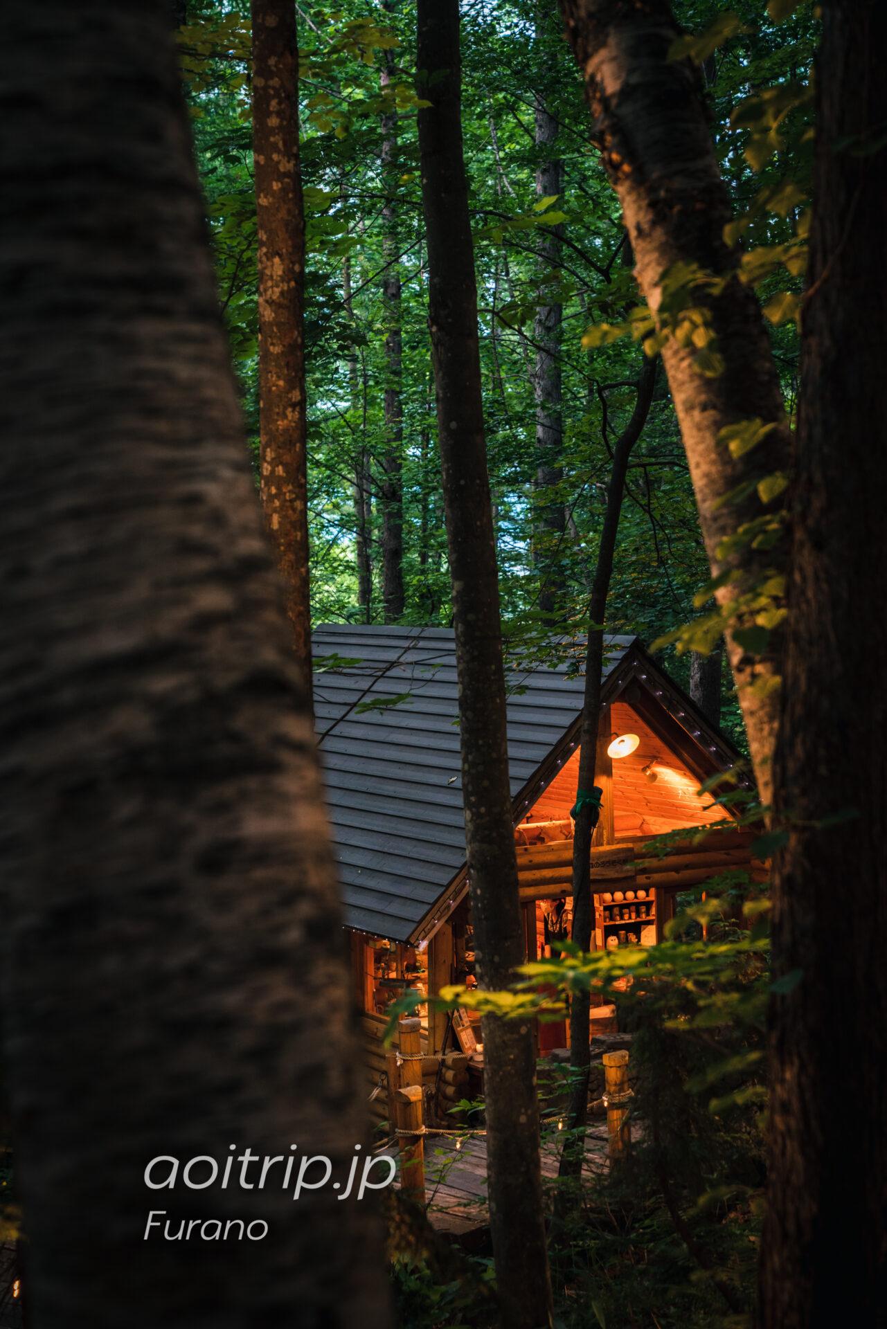 富良野のニングルテラス「森のろうそく屋」