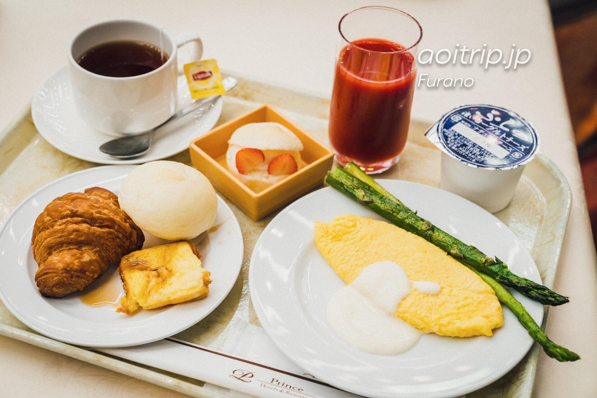 新富良野プリンスホテルの朝食
