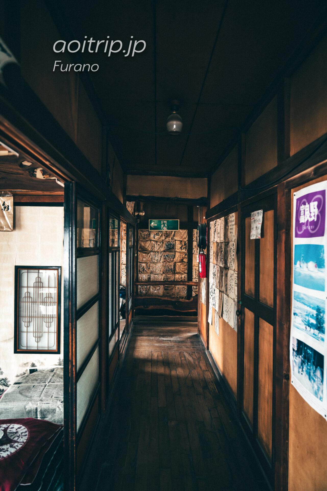 麓郷 小野田そばの2F 『北の国から '83』冬