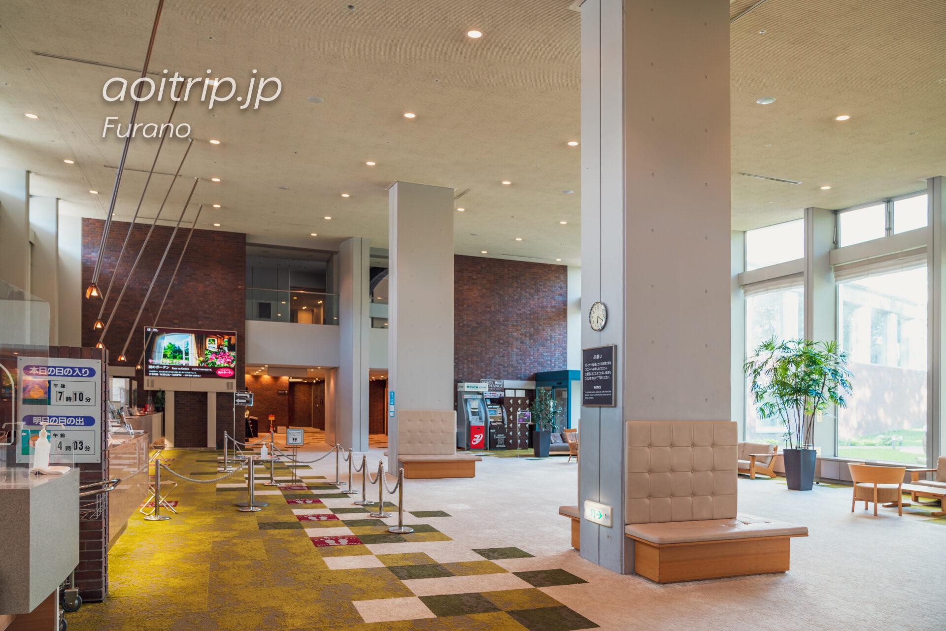 新富良野プリンスホテル 『北の国から '98時代』で純がチェックイン手続きをしたレセプション