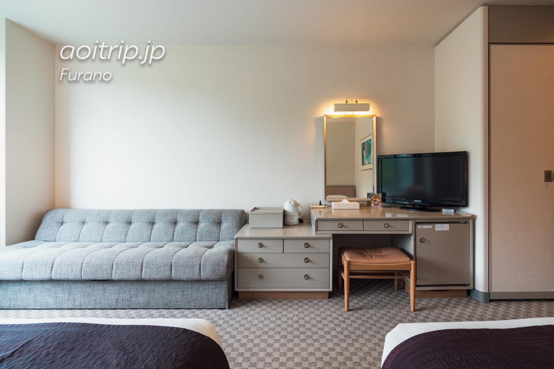 新富良野プリンスホテルの客室ツインルーム Twin Room