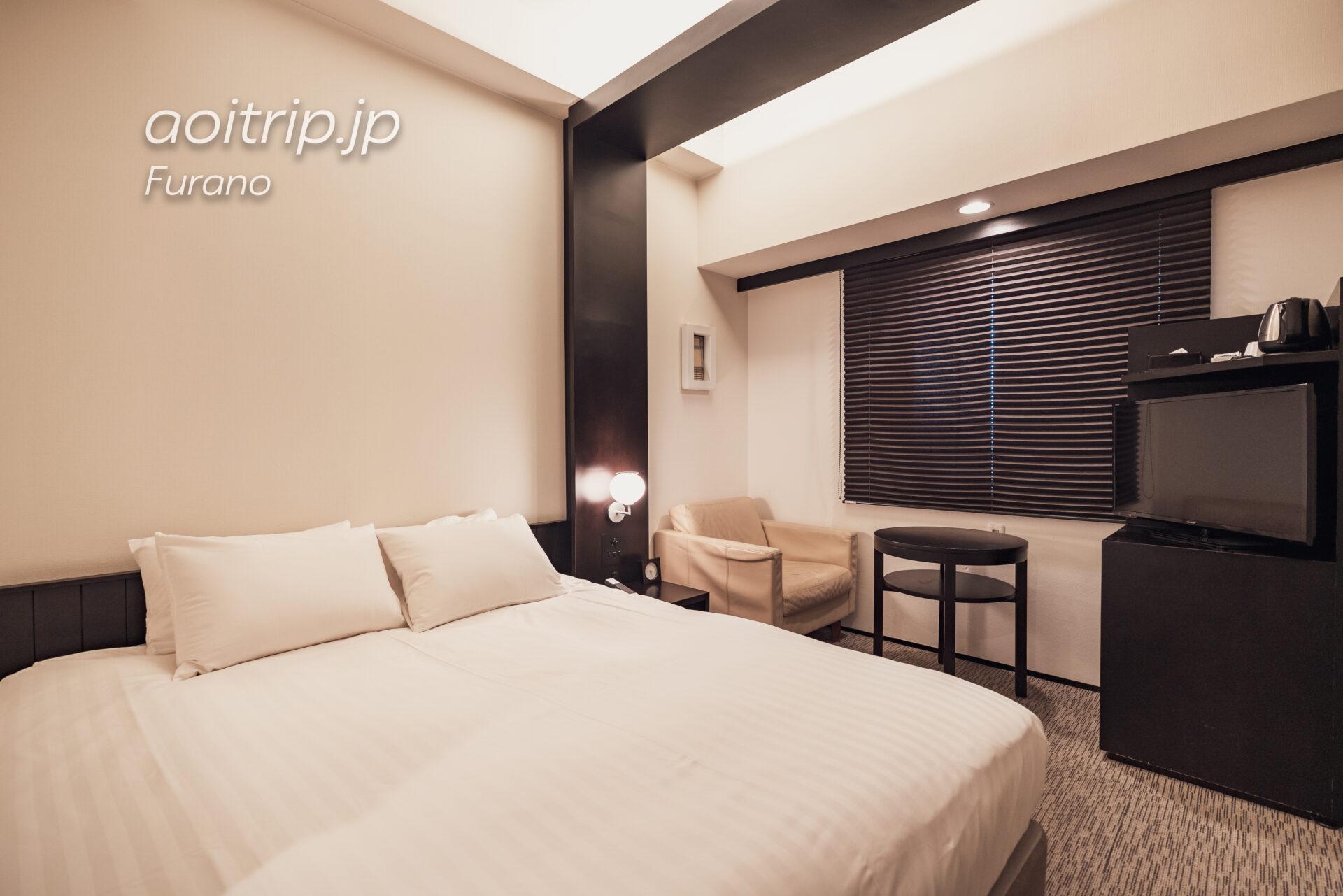 富良野ナチュラクスホテルの客室 ダブルルーム