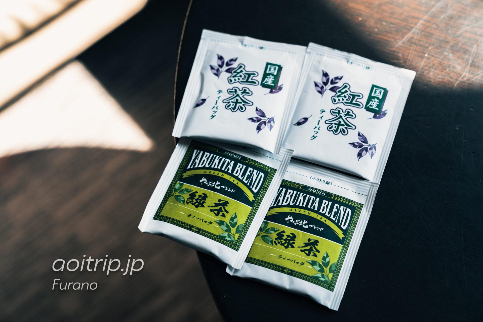 富良野ナチュラクスホテル 無料のお茶