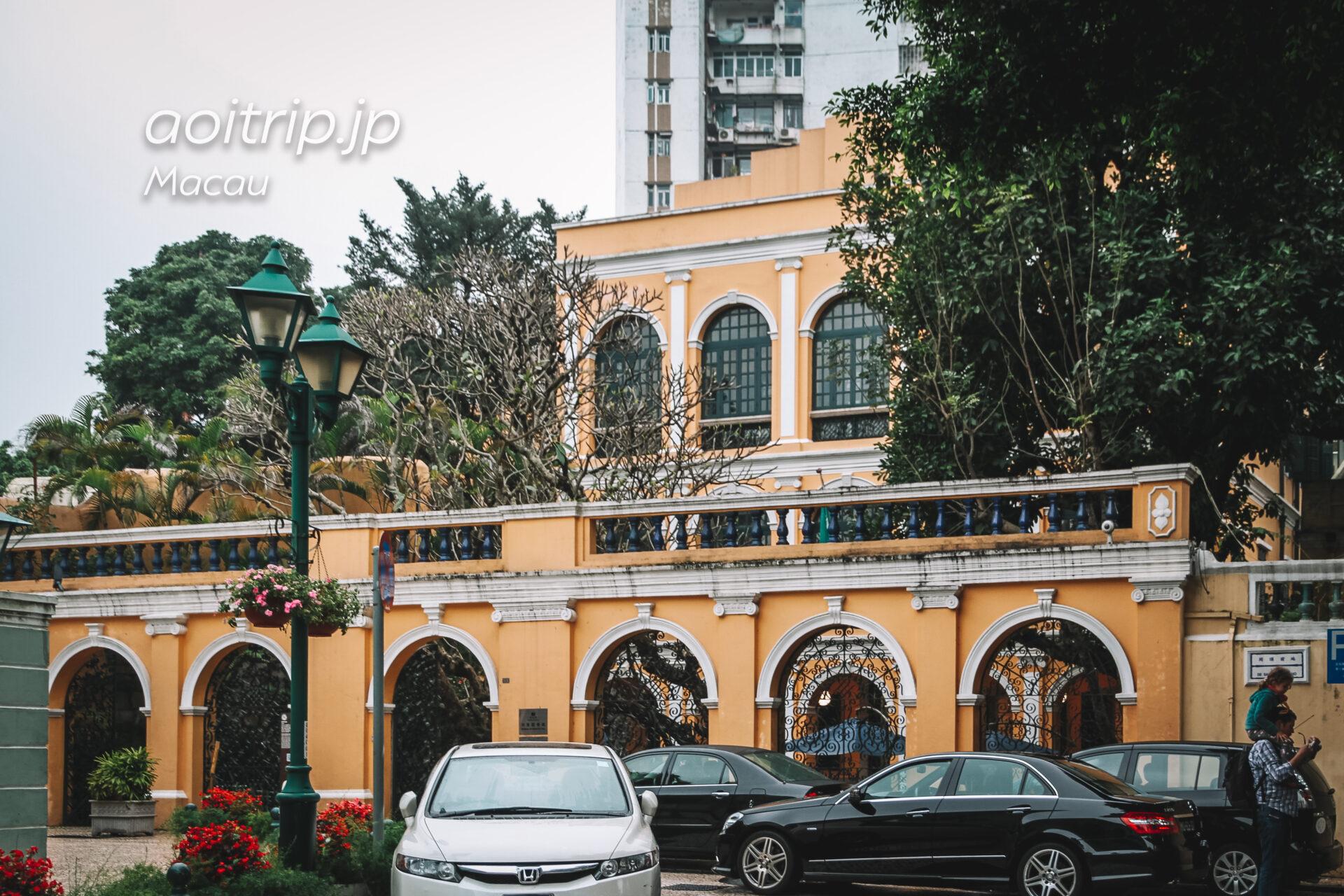 マカオ ロバート・ホー・トン図書館 Sir Robert Ho Tung Library