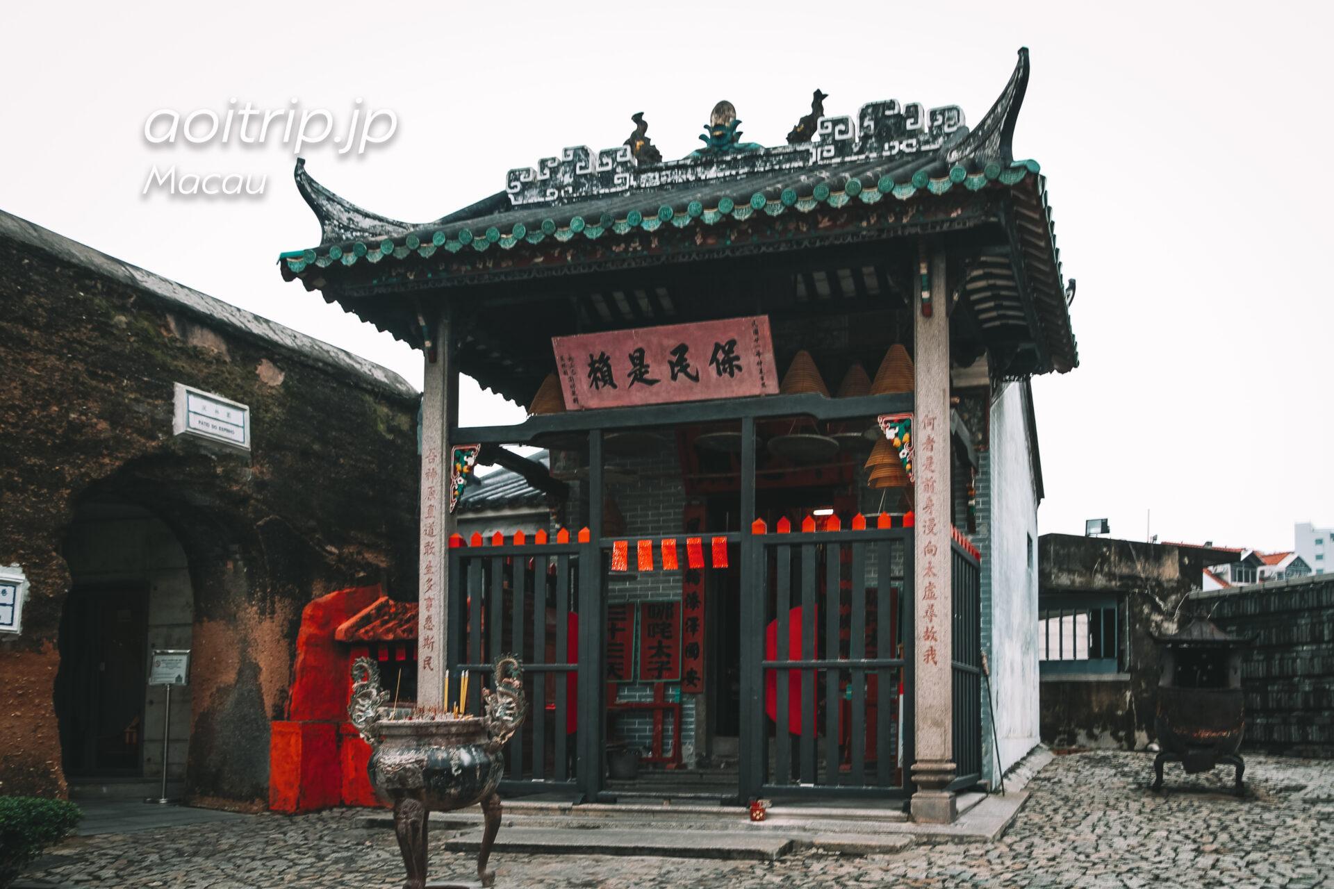 マカオ ナーチャ廟 Na Tcha Temple