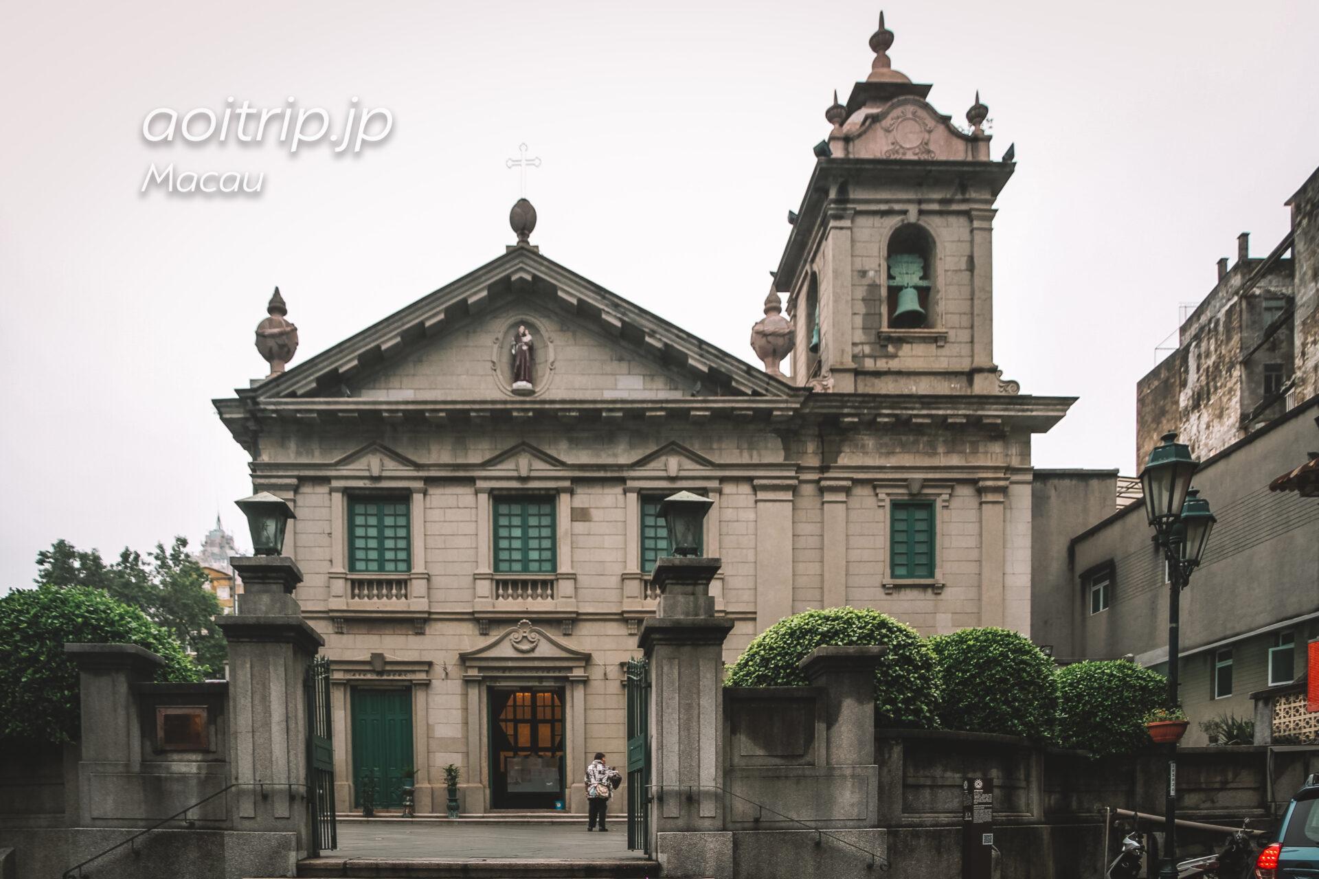 マカオ 聖アントニオ教会 St Anthony's Church