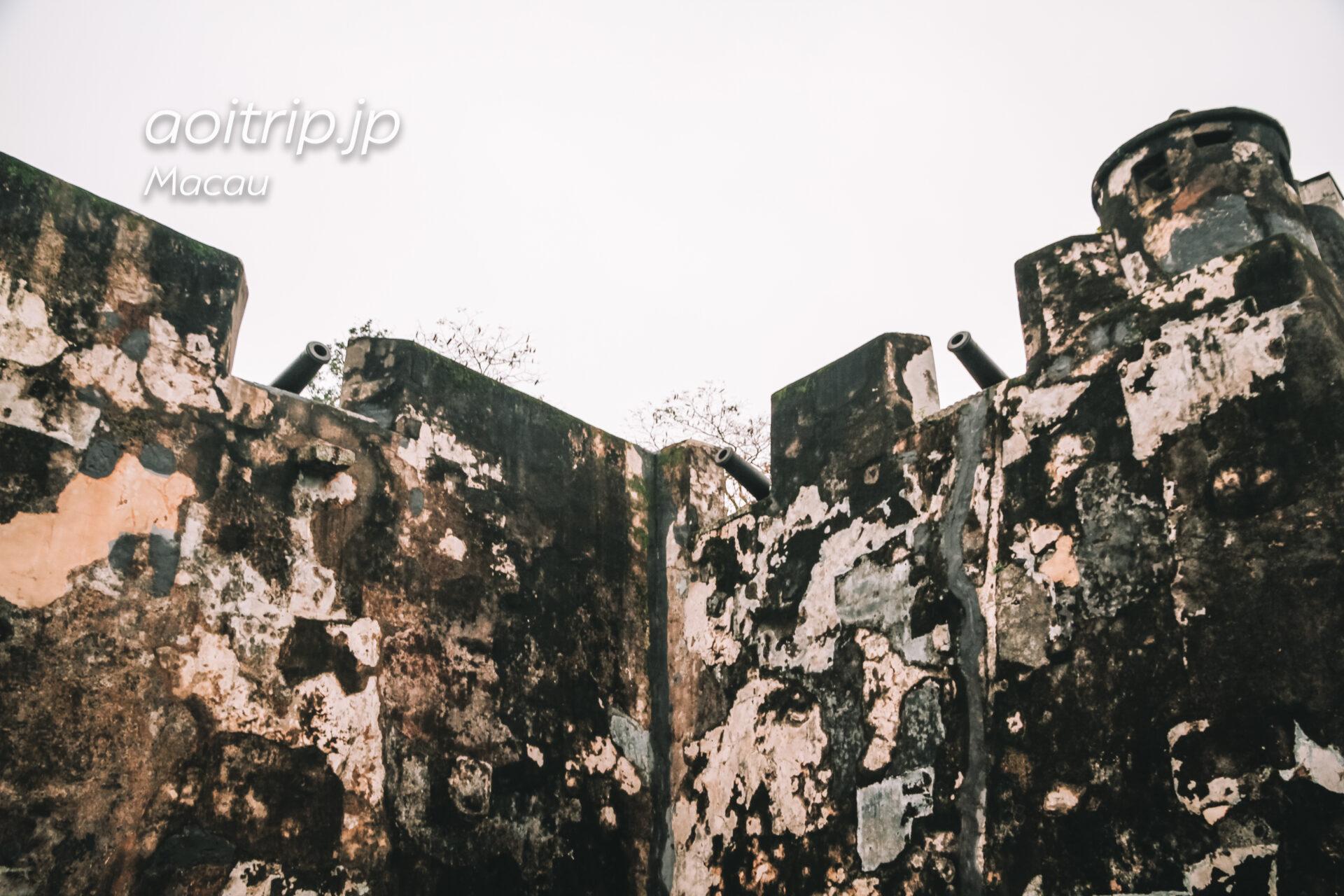 マカオ モンテの砦 Monte Fortress