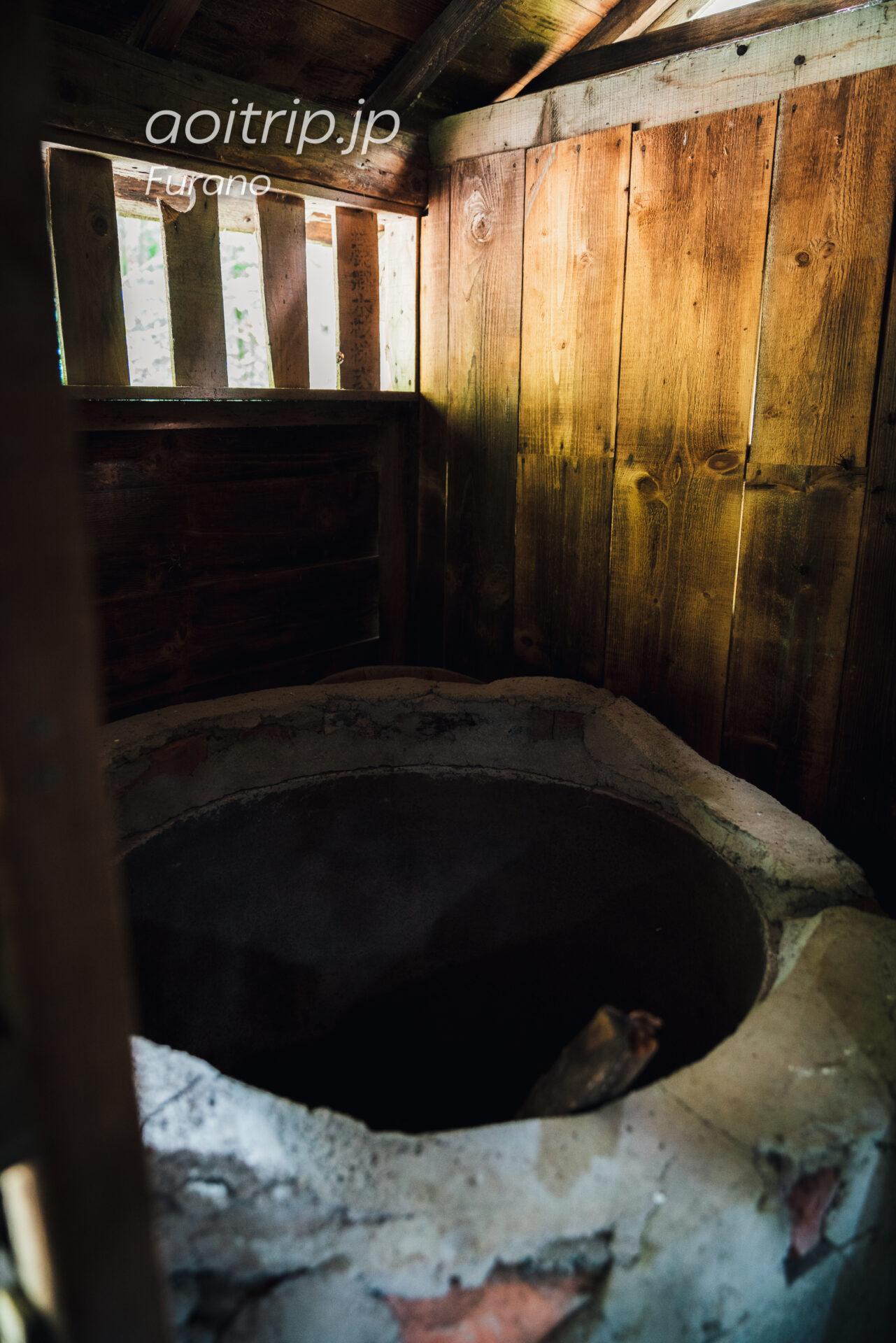 『北の国から』ロケ地巡り 五郎の最初の家 お風呂