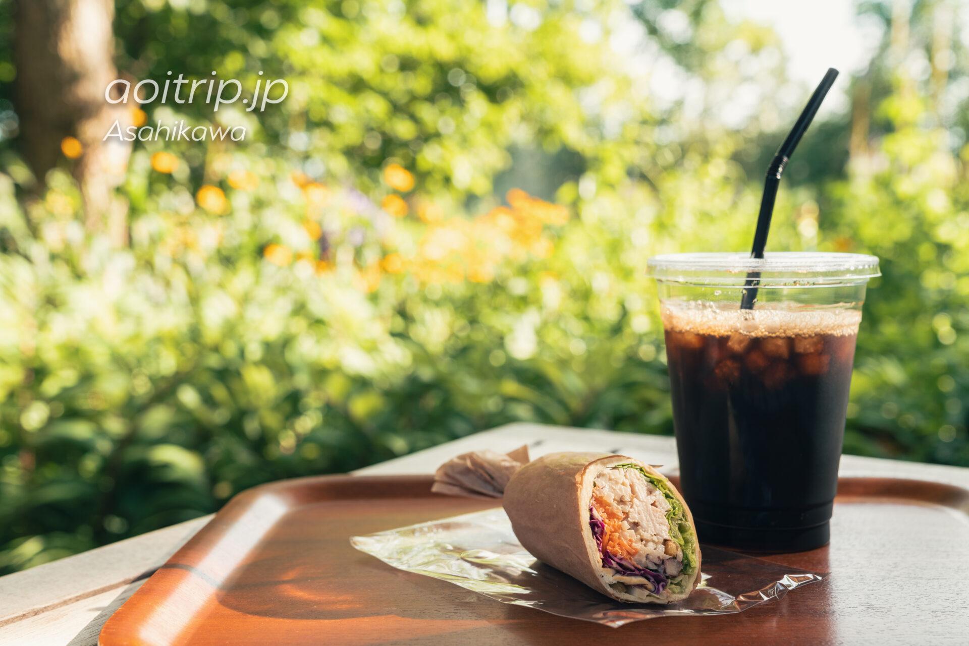 上野ファーム ナヤカフェの根菜と雑穀のチキンロール