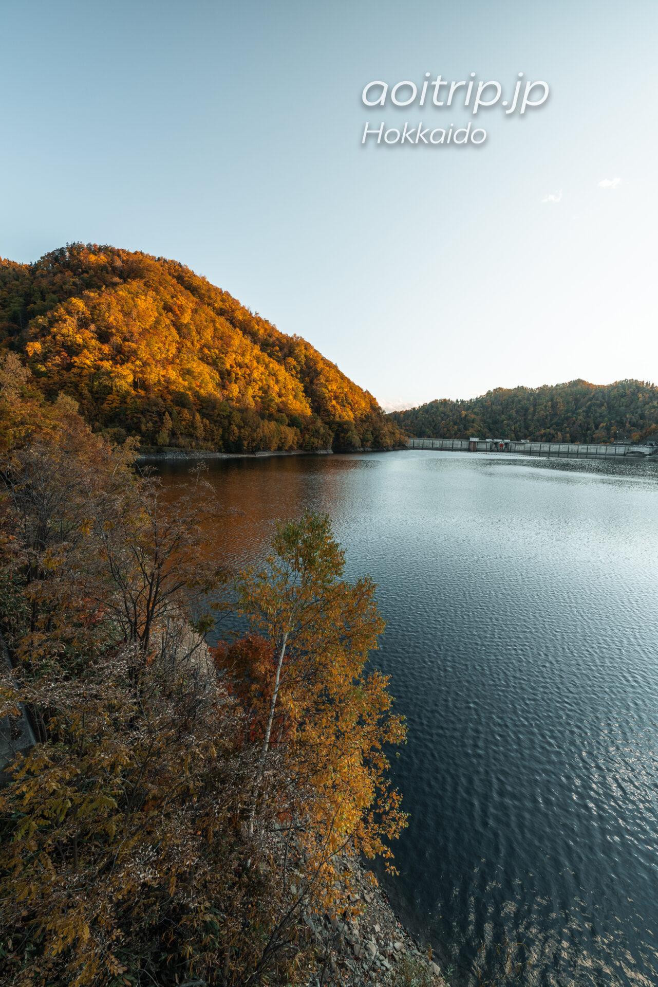 さっぽろ湖と定山渓ダム Lake Sapporo