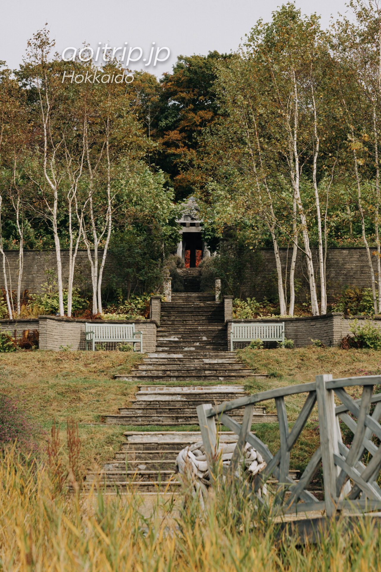 えこりん村 Ecorin Village 銀河庭園のサーペンタインガーデン