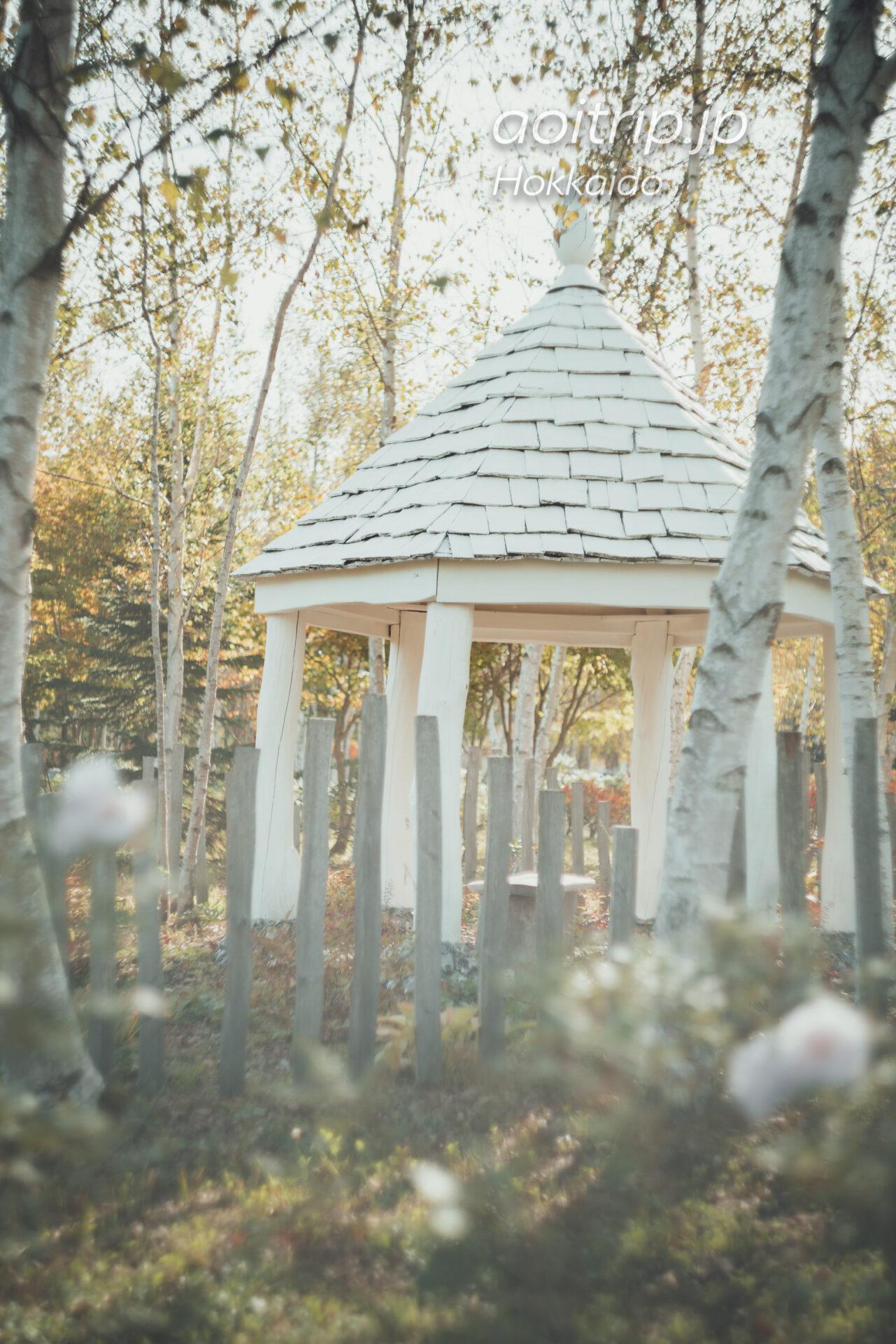 えこりん村 Ecorin Village 銀河庭園のブラック&ホワイトガーデン
