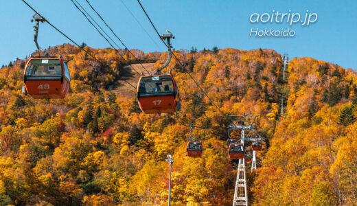 札幌国際スキー場の紅葉ゴンドラ Sapporo Kokusai Ski Resort